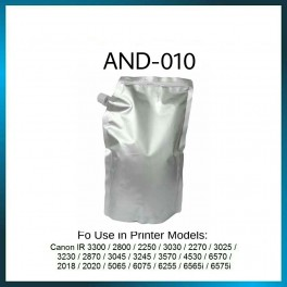 Toner 1kg for Copier Canon GP405,IR3300,IR5000, IR6075, IR7200, IRA6565i etc